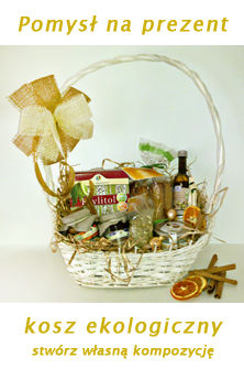 kosz eologiczny, upominkowy, na prezent dla firm, sklepów, imieniny, urodziny, święta, mikołajki